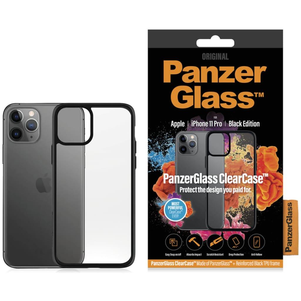 PanzerGlass Handyhülle »ClearCase mit Blackframe für iPhone 11 Pro«, Cover