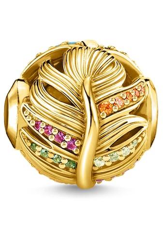 THOMAS SABO Bead »Feder gold, K0340 - 488 - 7« kaufen