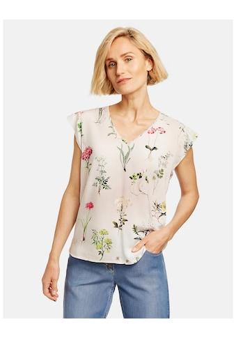 GERRY WEBER Klassische Bluse »Blusenshirt mit V - Ausschnitt« kaufen