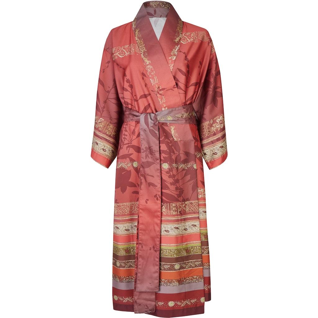 Bassetti Damenbademantel »Malve«, (1 St.), seidiger Satin Kimono