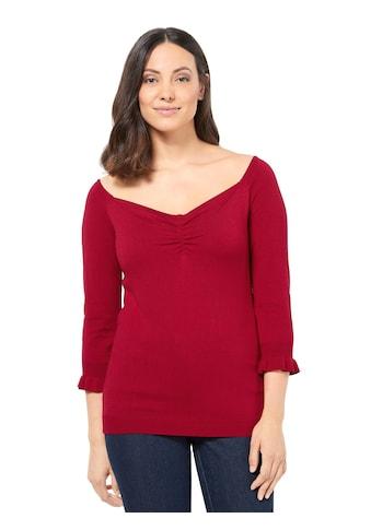 creation L 3/4 Arm-Pullover »Pullover« kaufen