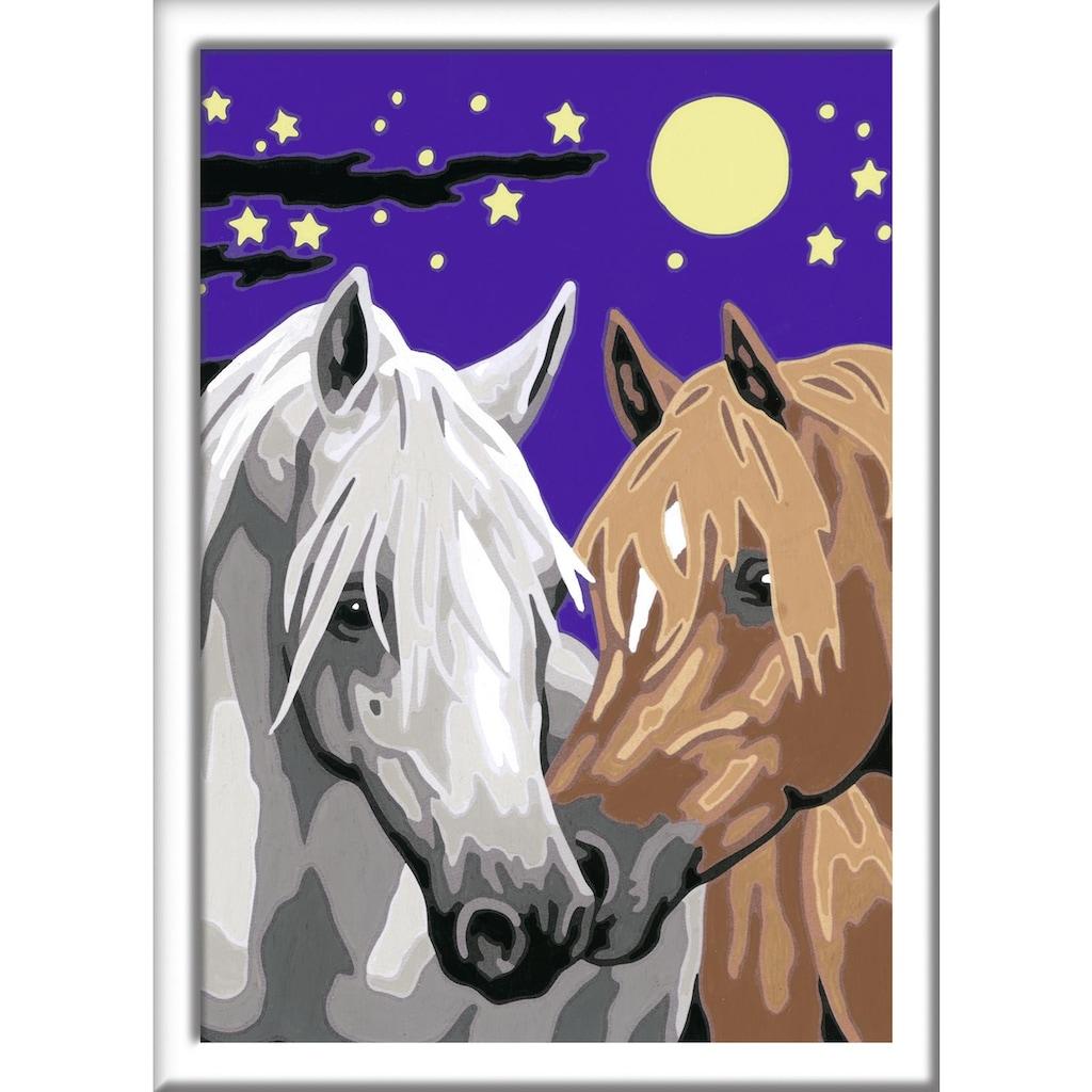 Ravensburger Malen nach Zahlen »Atelier Pferde«, Made in Europe, FSC® - schützt Wald - weltweit