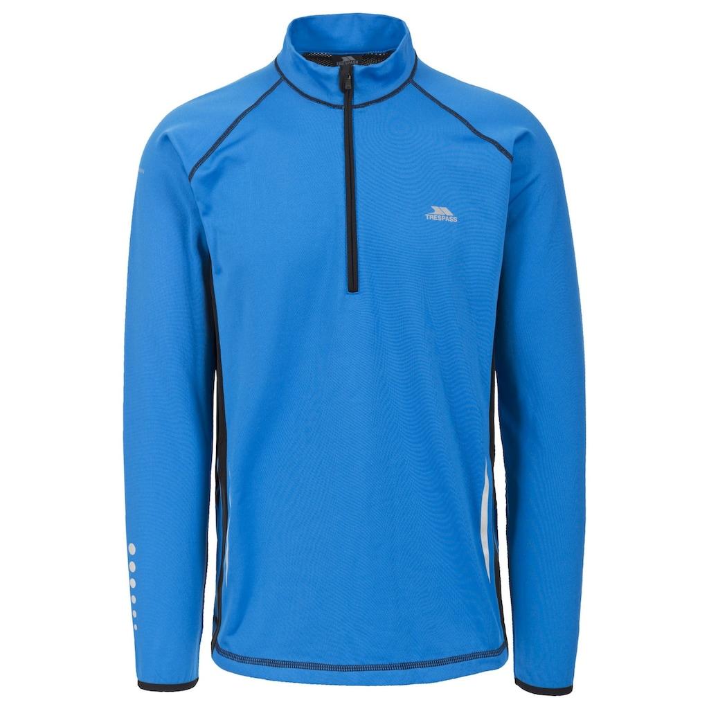 Trespass Sweatshirt »Herren Keenan Longsleeve / Sport-Top, langärmlig«