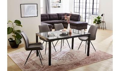 Jockenhöfer Gruppe Essgruppe, moderne Esstischgruppe inklusive 4 Stühlen kaufen