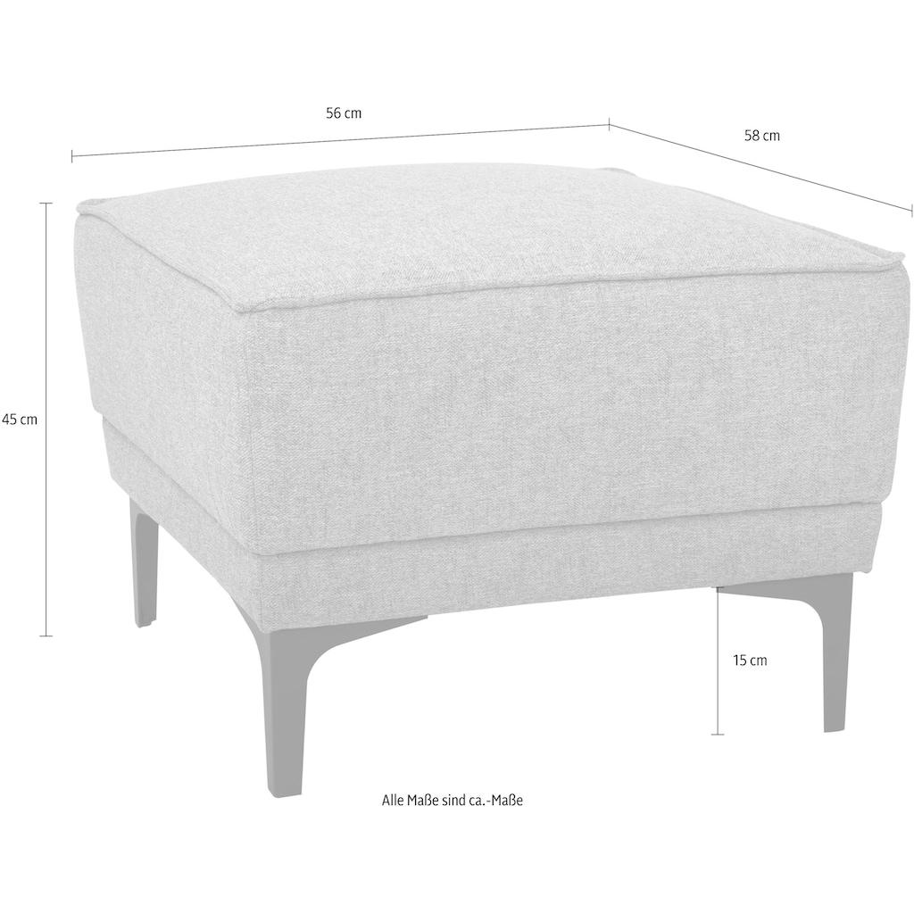Places of Style Hocker »Oland«, im zeitlosem Design und hochwertiger Verabeitung