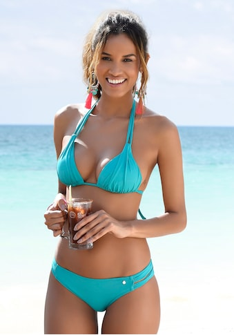 s.Oliver Triangel-Bikini-Top »Spain«, mit Raffung und Doppelträger kaufen