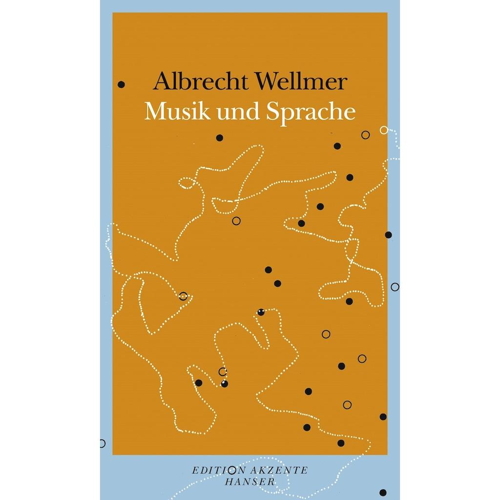 Buch »Versuch über Musik und Sprache / Albrecht Wellmer«