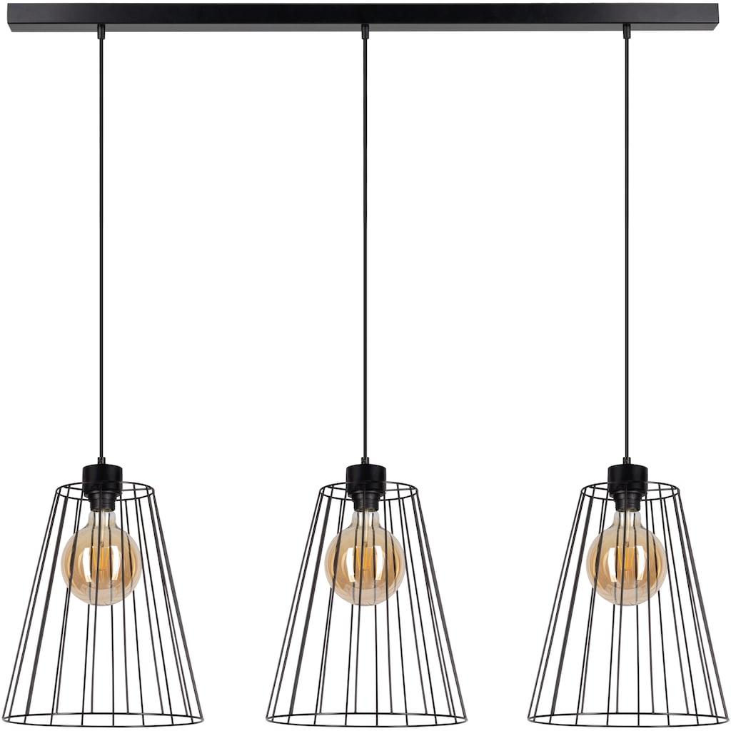 BRITOP LIGHTING Hängeleuchte »Swan«, E27, 1 St., Dekorative Leuchte aus Metall, passende LM E27 / exklusive, Made in Europe