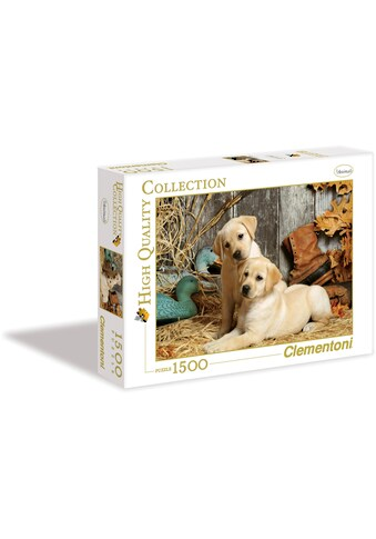"""Clementoni® Puzzle """"Hunting Dogs"""" kaufen"""