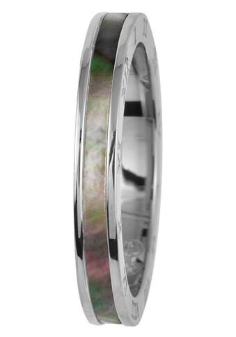 Jacques Lemans Fingerring »S-R98B52,54,56,58, S-R98D52,54,56,58«, mit Perlmutt kaufen
