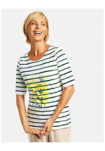 GERRY WEBER 3/4 - Arm - Shirt »Shirt mit Mustermix« kaufen
