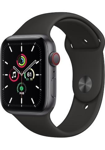 Watch Series SE GPS + Cellular, Aluminium Gehäuse, 44 mm mit Sportarmband, Apple kaufen