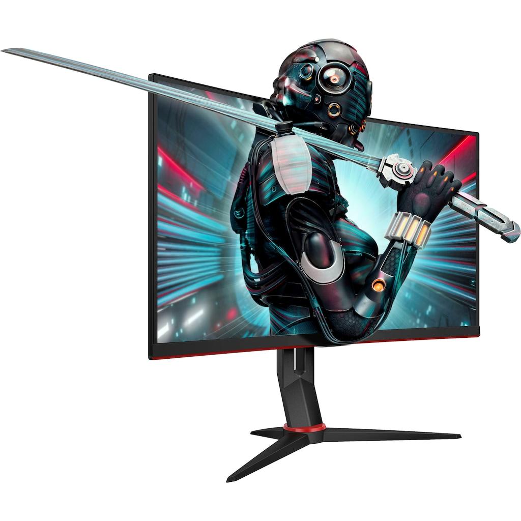 """AOC Curved-Gaming-LED-Monitor »CQ27G2U/BK«, 68,6 cm/27 """", 2560 x 1440 px, QHD, 1 ms Reaktionszeit, 144 Hz"""
