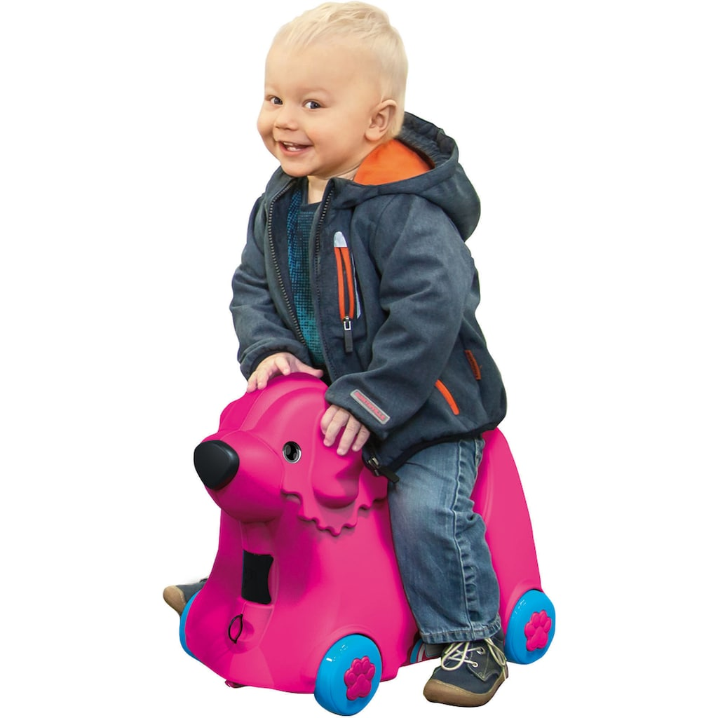 BIG Rutscher »BIG Bobby Trolley pink«, Made in Germany