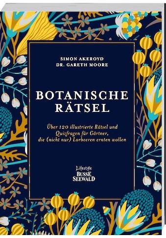 Buch »Botanische Rätsel / Simon Akeroyd, Gareth Moore« kaufen