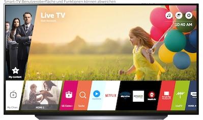 """LG OLED-Fernseher »OLED65C17LB«, 164 cm/65 """", 4K Ultra HD, Smart-TV, (bis zu 120Hz)-α9... kaufen"""