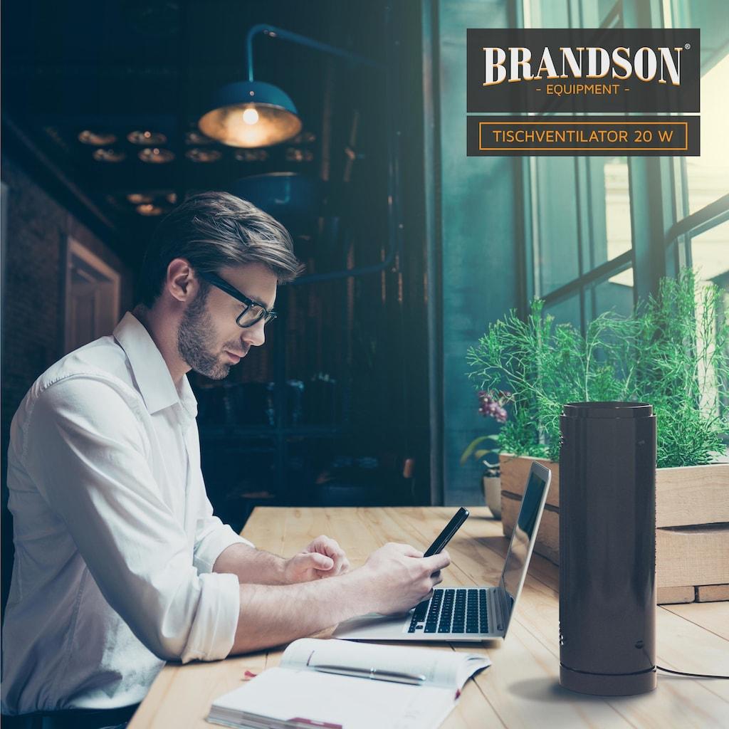 Brandson Turmventilator »Lüfter mit Timerfunktion / leise«, mit Fernbedienung
