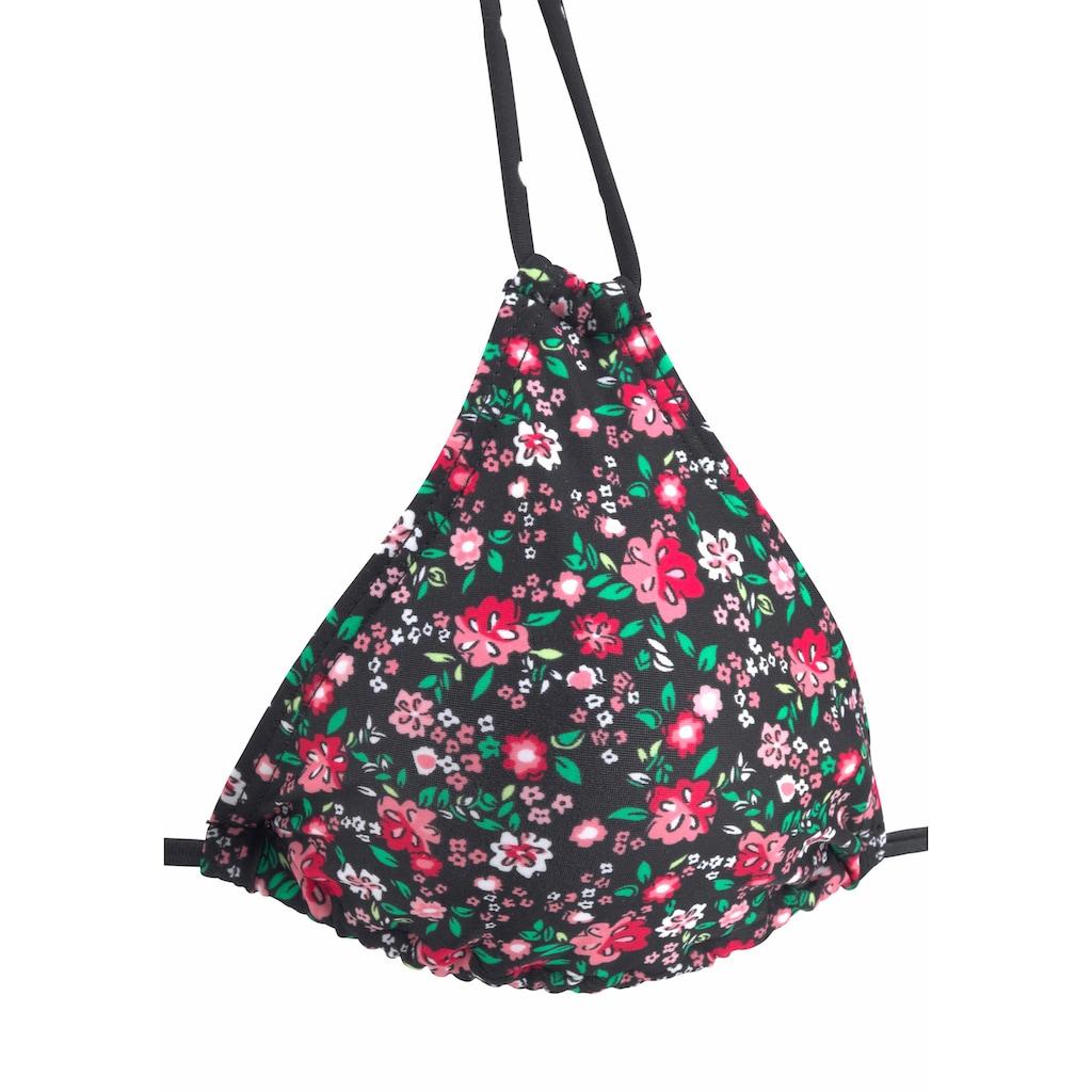 Buffalo Triangel-Bikini-Top »Evi«, im hübschen Mustermix