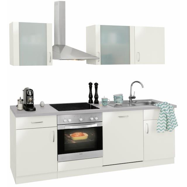 wiho Küchen Küchenzeile »Brüssel«