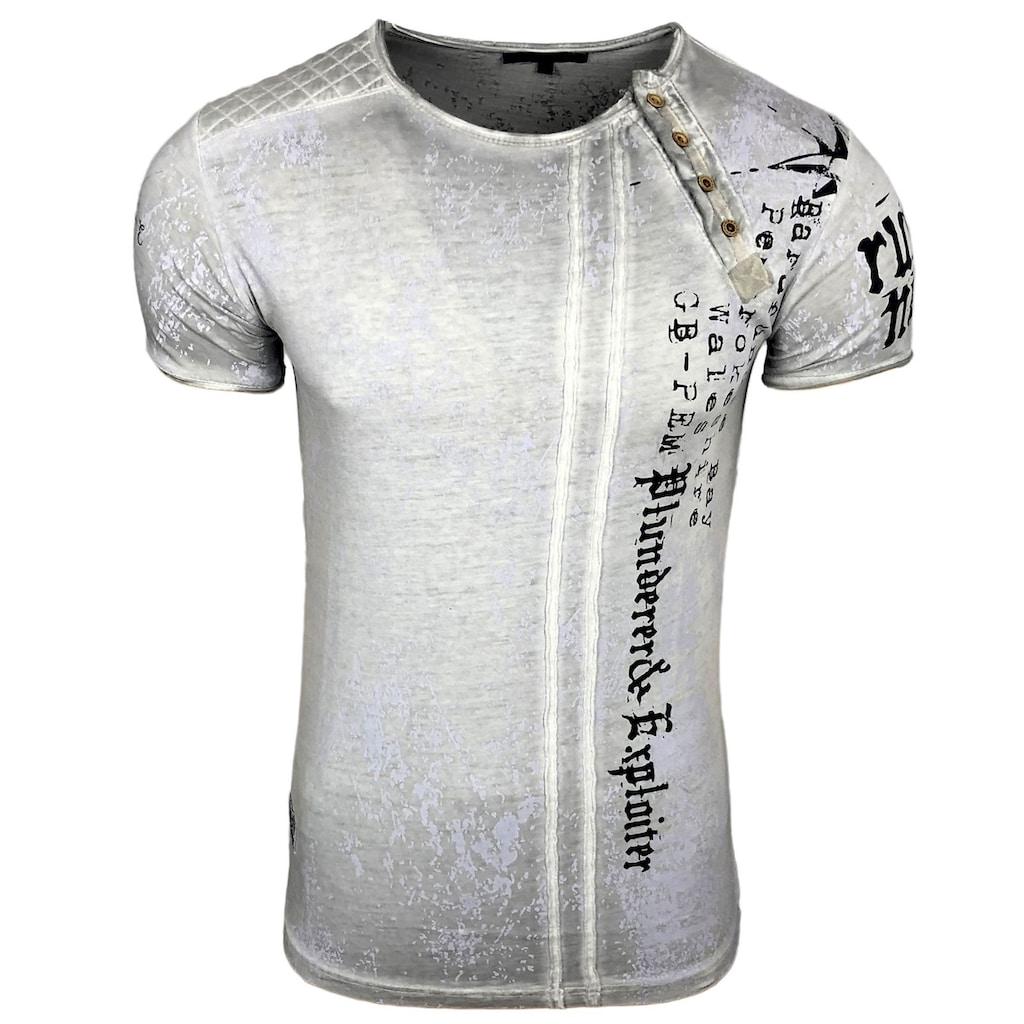 Rusty Neal T-Shirt mit coolem Print