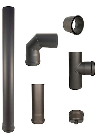 Color Emajl Ofenrohr, 100 cm lang, Stahl kaufen
