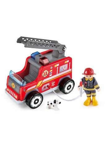 Hape Spielzeug-Feuerwehr »Feuerwehr-Trupp«, aus Holz kaufen