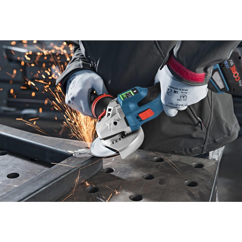 Bosch Professional Akku-Winkelschleifer »GWS 18V-15 SC Professional«, leistungsstark, ohne Akku und Ladegerät