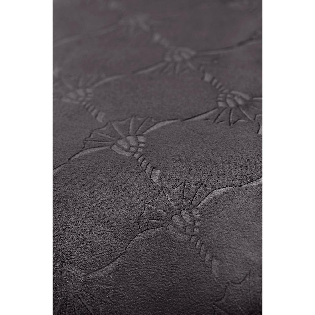 Joop! Kissenbezug »Emboss«, (1), mit Kornblumen-Muster
