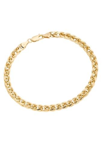 Firetti Goldarmband »in Zopfkettengliederung«, poliert kaufen