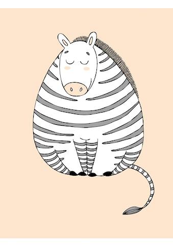 Lüttenhütt Leinwandbild »Zebra« kaufen