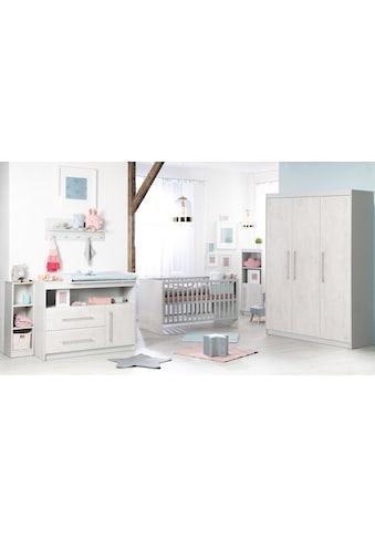 roba® Babyzimmer-Komplettset »Maren 2«, (Set, 3 St.), mit Kinderbett, Schrank und... kaufen