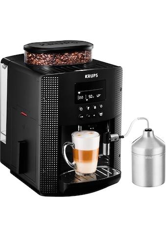 Krups Kaffeevollautomat EA8160, 1,8l Tank, Kegelmahlwerk kaufen