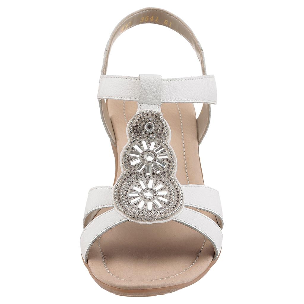 Remonte Sandale, mit schönem Schmuckelement
