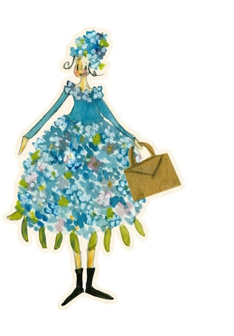 Wall-Art Wandtattoo »Blütenelfe Juni Flieder Monat« kaufen