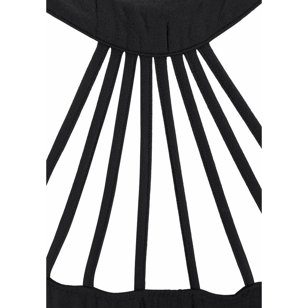 Buffalo Strandkleid, mit verspielter Trägerlösung