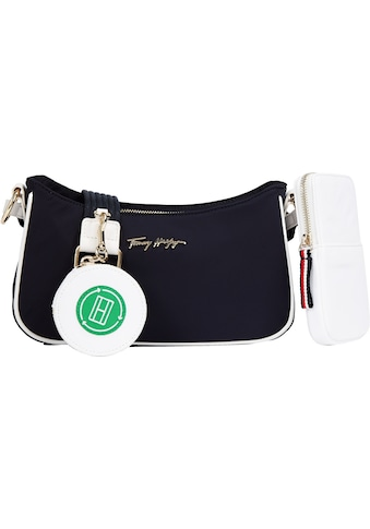 Tommy Hilfiger Umhängetasche »EASY TOMMY«, mit zwei kleinen Taschen zum Anhängen kaufen