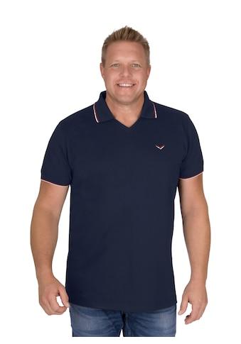 Trigema Poloshirt, mit V-Ausschnitt kaufen