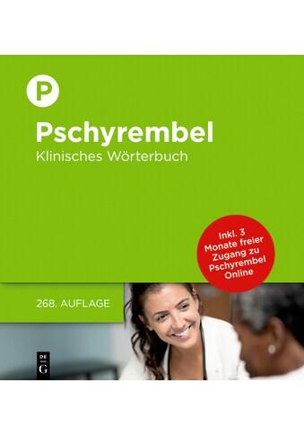Buch »Pschyrembel Klinisches Wörterbuch / Willibald Pschyrembel, der... kaufen