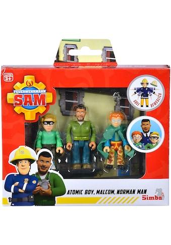 SIMBA Spielfigur »Feuerwehrmann Sam, Superhelden Figurenset« kaufen