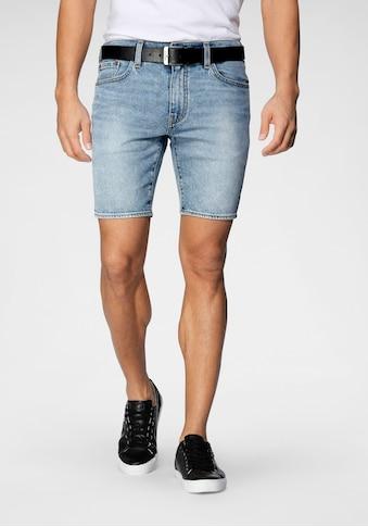Levi's® Jeansshorts »412 SLIM SHORT«, in authentischer Waschung kaufen