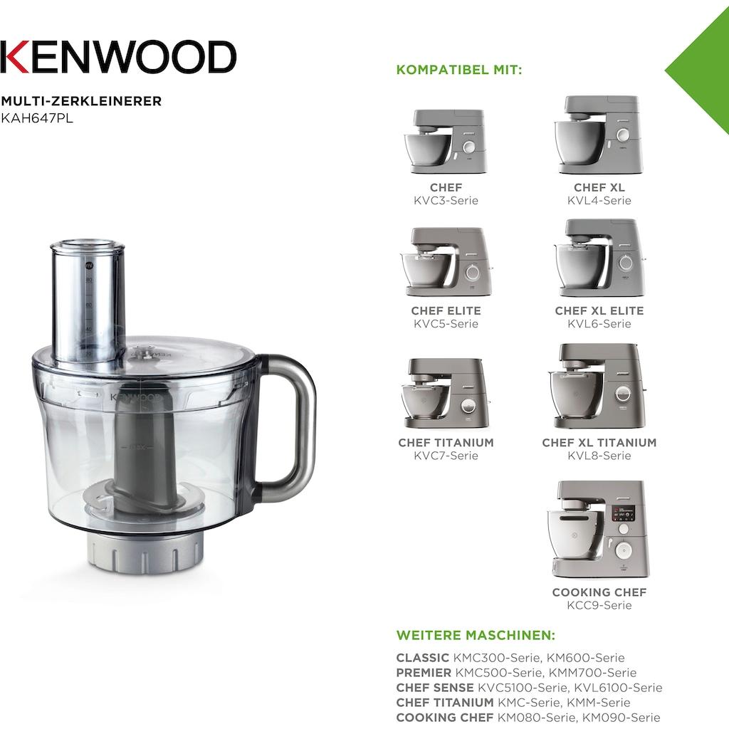 KENWOOD Zerkleinereraufsatz »KAH647PL«, mit verschiedenen Arbeitsscheiben