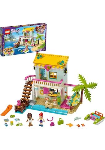 LEGO® Konstruktionsspielsteine »Strandhaus mit Tretboot (41428), LEGO® Friends«, (444... kaufen