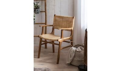 SIT Esszimmerstuhl, mit Armlehnen, moderner Rattanstuhl kaufen