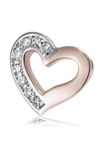 goldmaid Anhänger Herz 375/- Rotgold 8 Diamanten SI/H kaufen