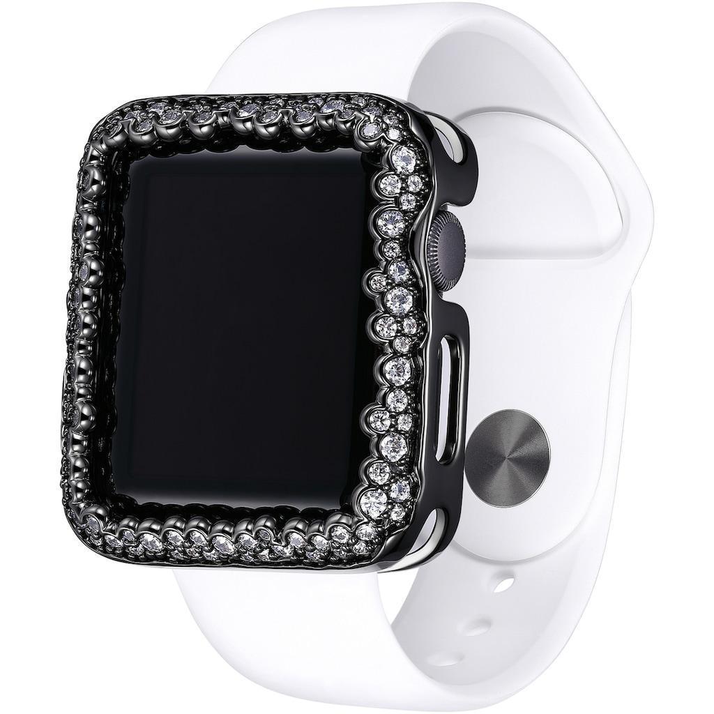 SKY•B Smartwatch-Hülle »CHAMPAGNE BUBBLES, W004X42, 42 mm«, Watch