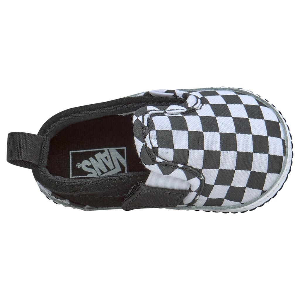 Vans Lauflernschuh »Slip-On V Crib Checker«