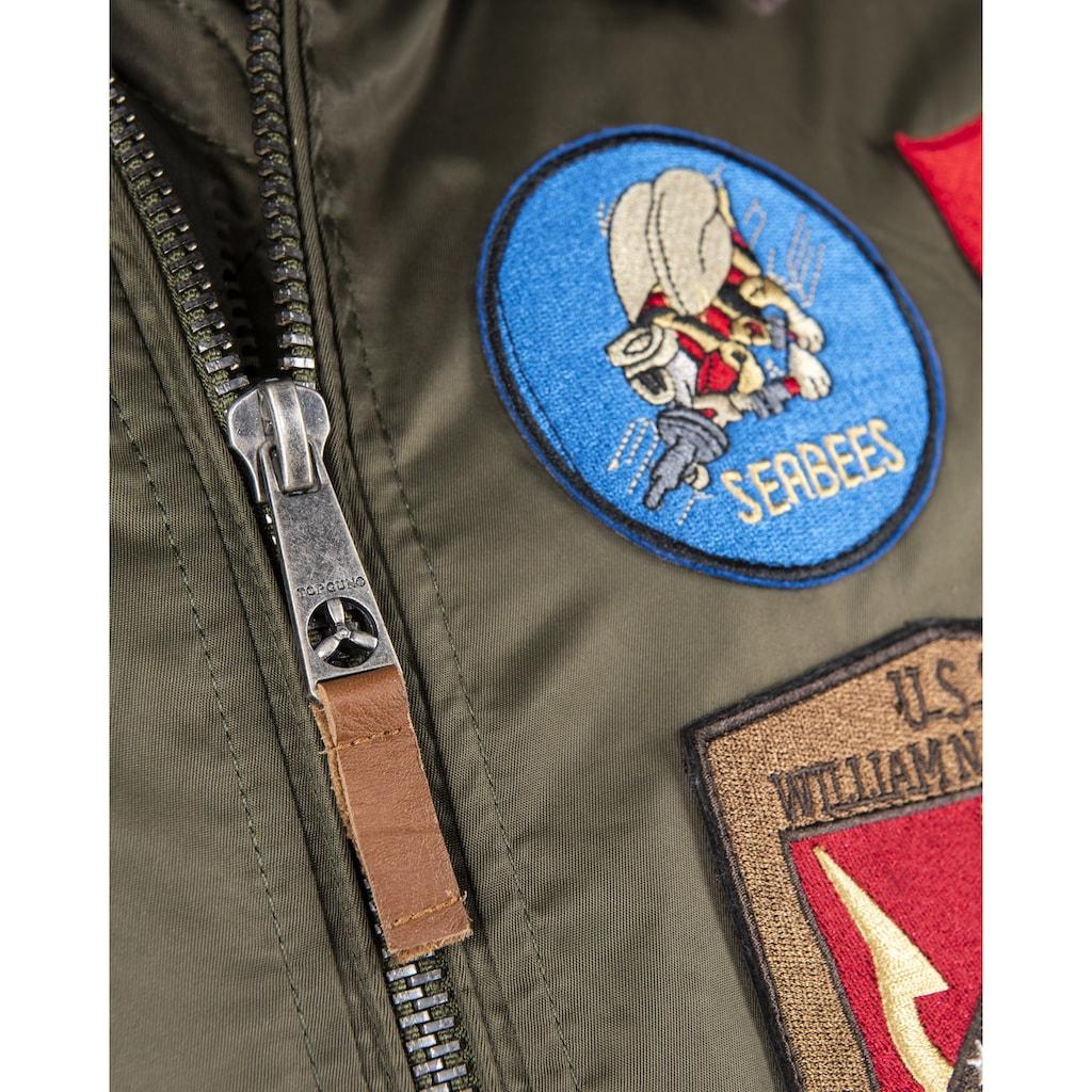 TOP GUN Bomberjacke »TG2019-2047 TG1542P«, Schmutzabweisend
