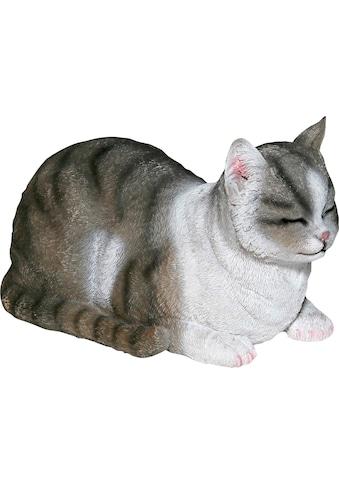 Casa Collection by Jänig Dekofigur »Katze«, grau-weiß, liegend kaufen
