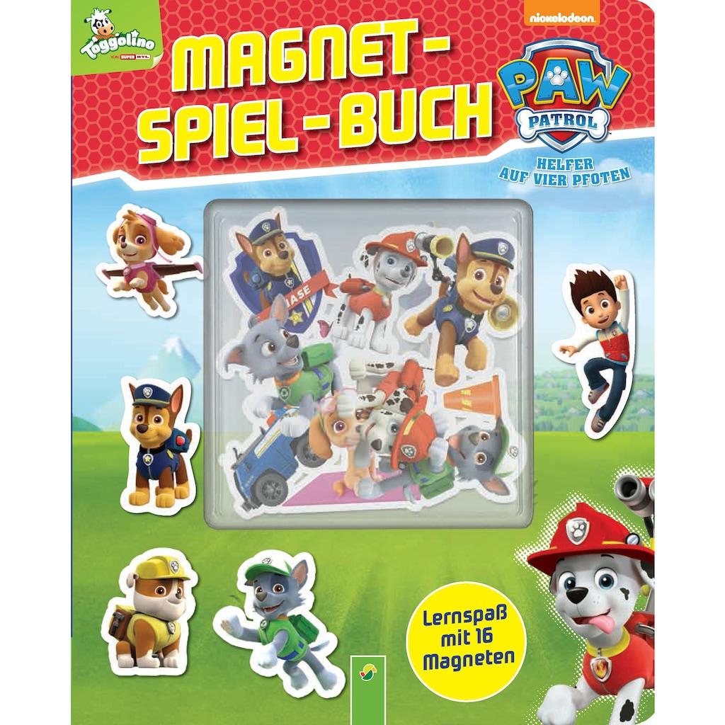 Buch »PAW Patrol Magnet-Spiel-Buch / DIVERSE«