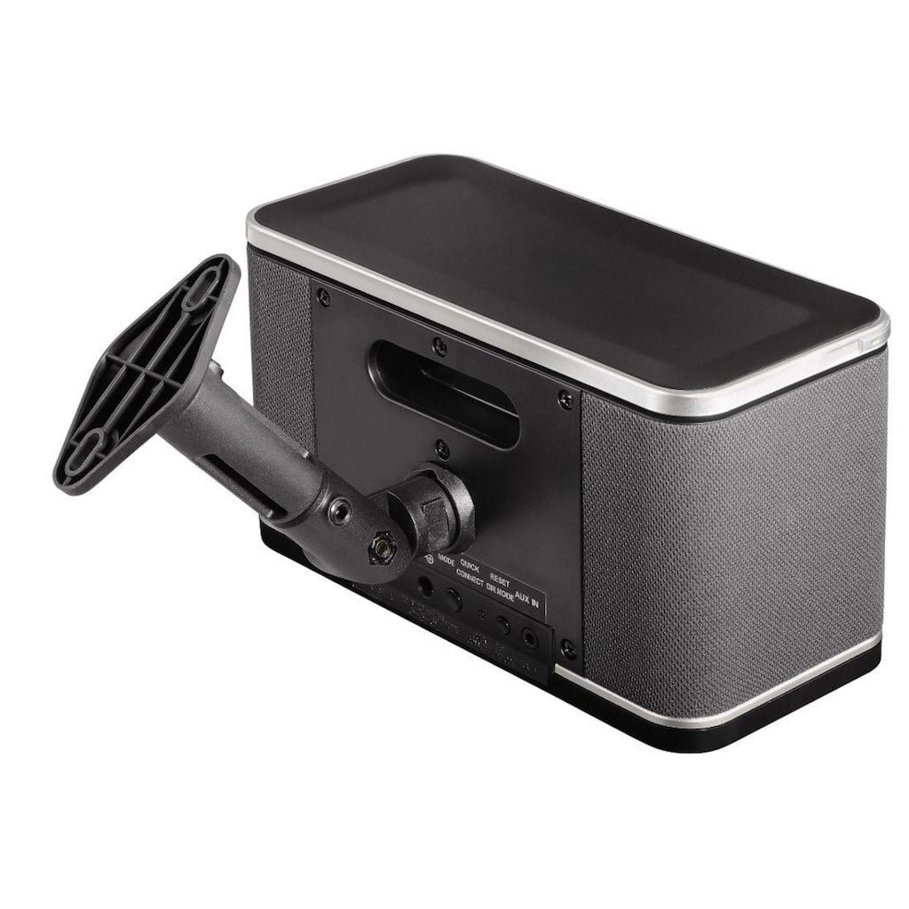 Hama 2 Lautsprecherhalter für Boxen bis 2 kg 360° Wandhalterung